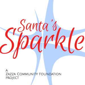 Santa's Sparkle Square Logo